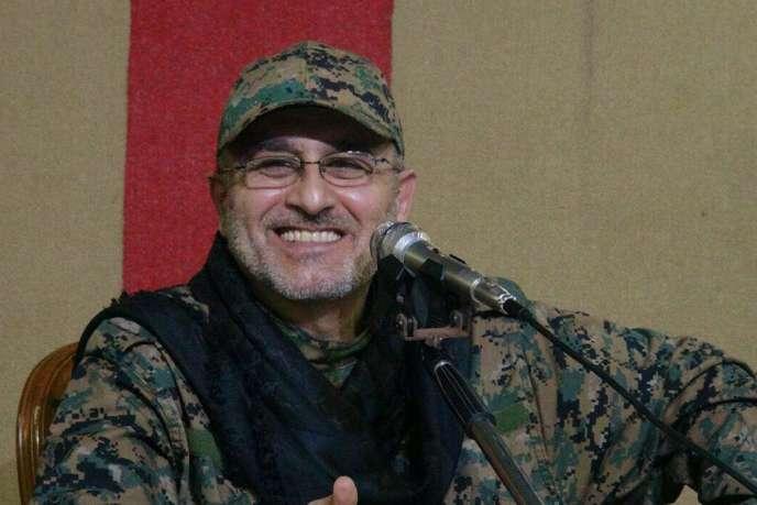 Cette photo non datée et diffusée le 13 mai 2016 montre Moustapha Badreddine, le chef militaire du Hezbollah tué en Syrie.