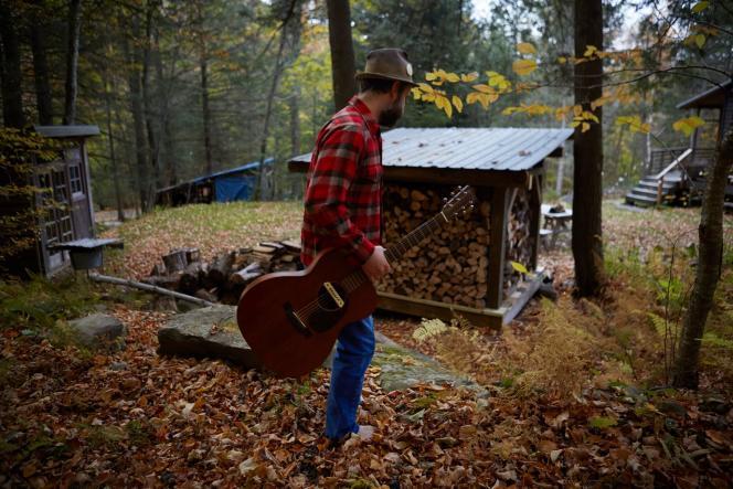 Le chanteur folk Jeremy Bernstein a installé son studio d'enregistrementau coeur de la vallée .