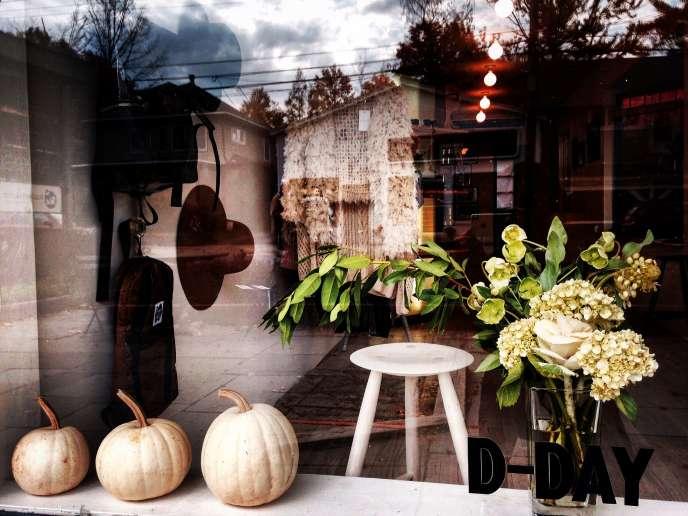 Asa Nishijima a ouvert une boutique de sa marque Peter Mountain Works, à Woodstock.