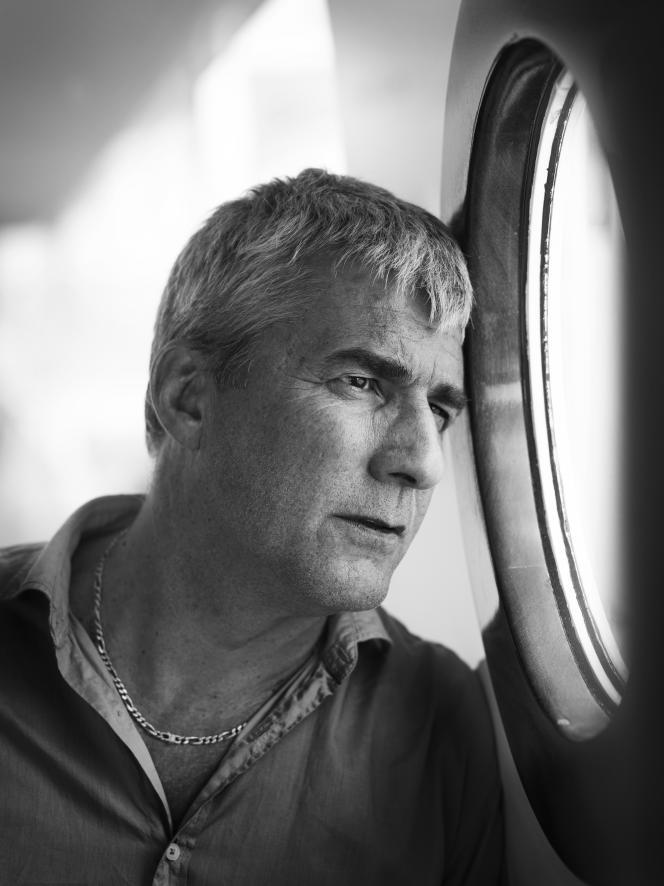 Alain Guiraudie à Cannes, le 12 mai 2016.