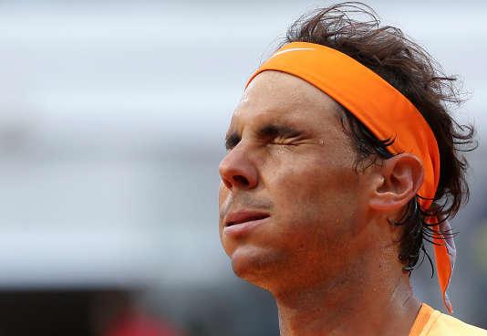 Rafael Nadal à Rome le 13 mai.