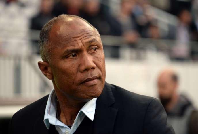 Antoine Kombouaré, ici le 13 mai à Lens, sera le prochain entraîneur de Guingamp.