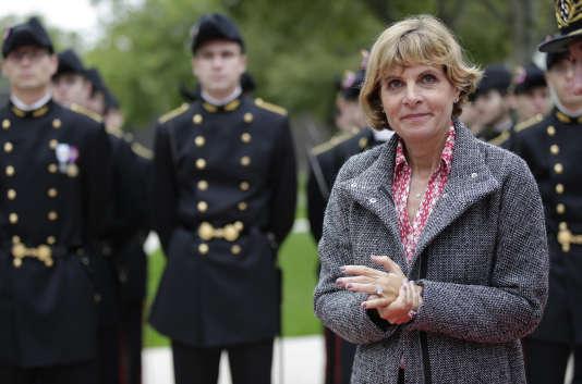 L'ancienne présidente d'Areva, Anne Lauvergeon, le 17 septembre 2015 à Orsay.