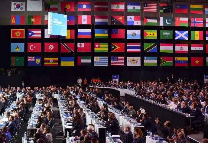 Le 66e congrès de la Fifa, le 13 mai à Mexico.