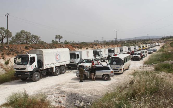 En avril 2016 un convoi humanitaire avait pu ravitailler les villes de Fuaa et de Kafraya.