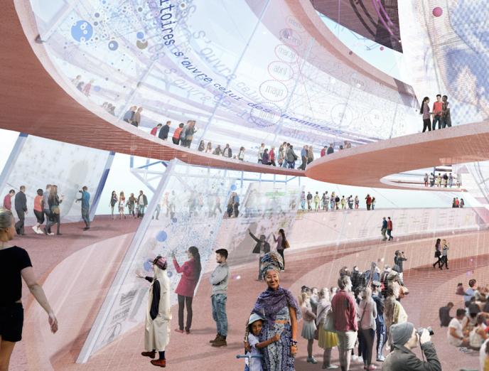 «Inscrivons le projet d'Exposition universelle 2025 dans l'histoire et les transformations de notre pays, pour porter un nouvel esprit des Lumières et réaffirmer notre attachement à la réussite de l'accord de Paris sur le climat» (Photo: le