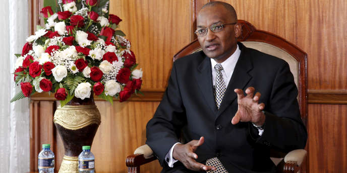 Patrick Njoroge, le 8 décembre 2015 à Nairobi.