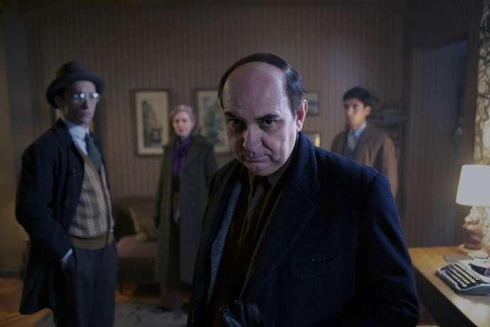 Luis Gnecco dans le film chilien de Pablo Larrain,« Neruda».
