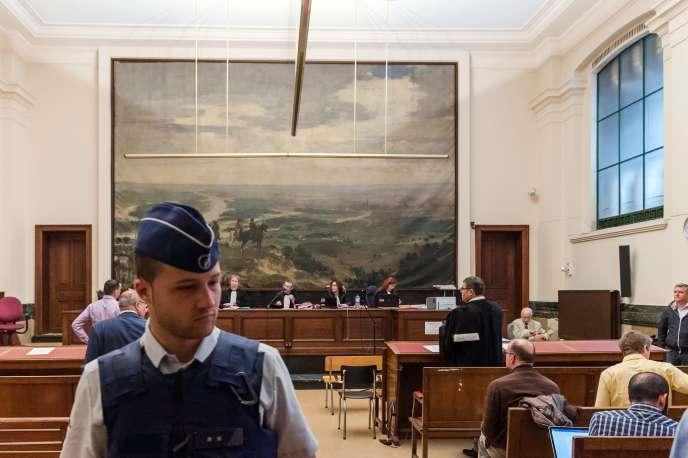 Le procès de 16 membres de la cellule djihadiste de Verviers se tient à Bruxelles, en Belgique.