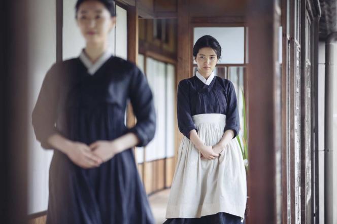 Kim Tae-ri dans le film coréen de Park Chan-wook,« Mademoiselle» (« Agassi»).