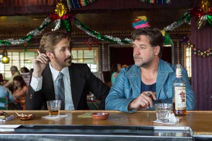 Ryan Gosling et Russell Crowe dans le film américain de Shane Black,« The Nice Guys».