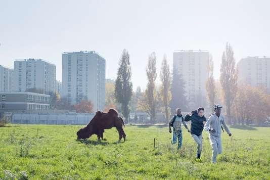 Une scène du film français d'Olivier Babinet,« Swagger».