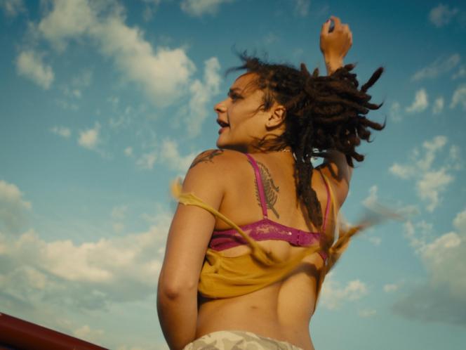 Sasha Lane dans le film britannique et américain d'Andrea Arnold,« American Honey».