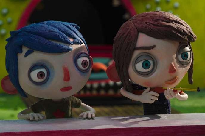 Une image du film d'animation français de Claude Barras,« Ma vie de courgette».