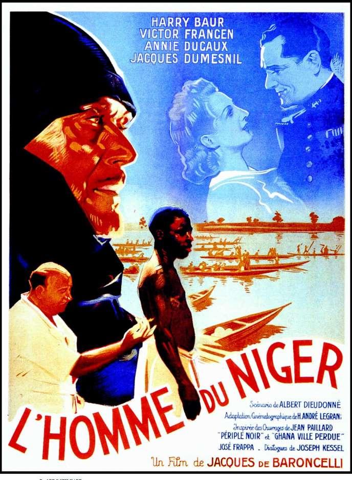 « L'Homme du Niger », de Jacques de Baroncelli.