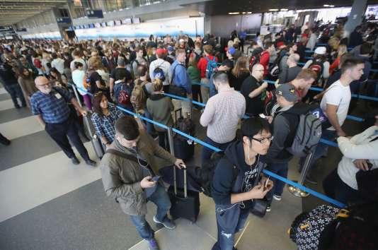 L'aéroport international O'Hare de Chicago, également connu comme «l'enfer sur Terre».