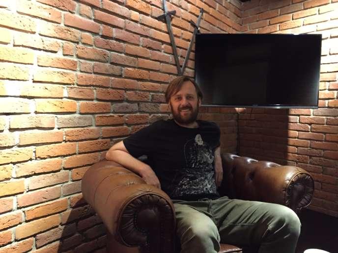 Marcin Iwinsk, le cofondateur du studio CD Projekt.