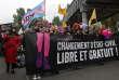 Dix-neuvième édition de la marche Existrans à Paris (en octobre 2015), en faveur des droits des personnes transgenres.