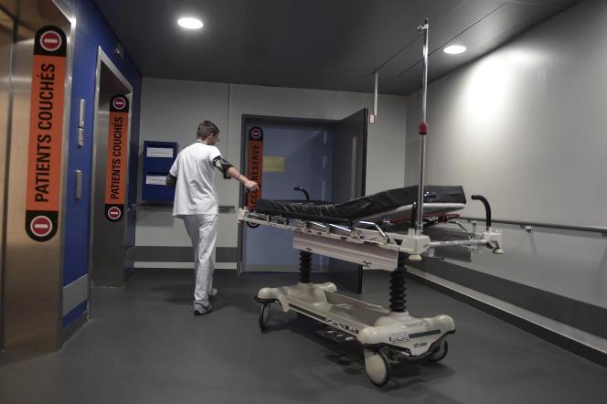 A l'hôpital de Strasbourg, en octobre 2014.