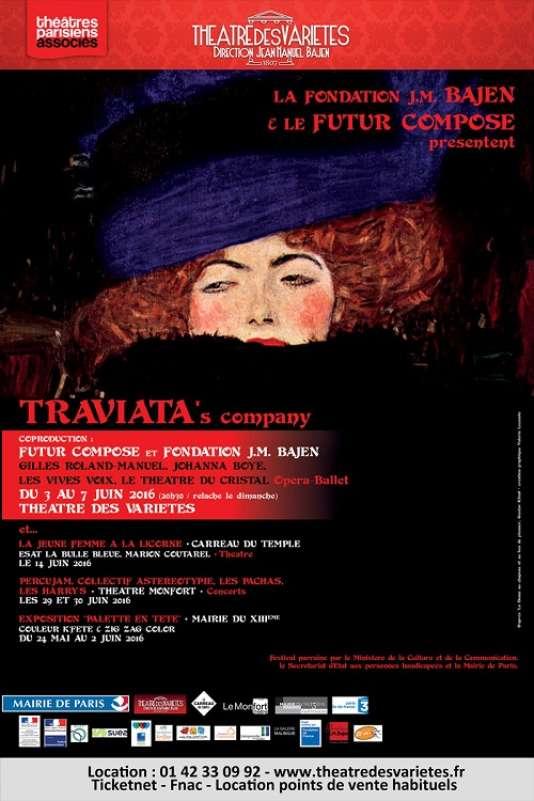 Affiche du Festival Futur composé.