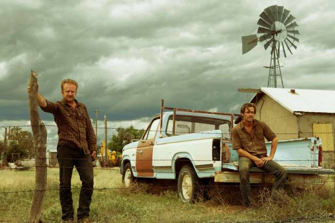 Ben Foster et Chris Pine dans le film américain de David MacKenzie, « Hell or High Water » (« Comancheria »).