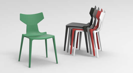 kartell le pionnier du plastique lance la chaise biod gradable. Black Bedroom Furniture Sets. Home Design Ideas