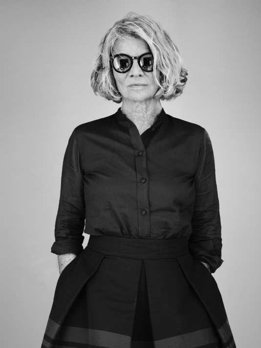 Nicole Garcia à Cannes, le 15 mai 2016.