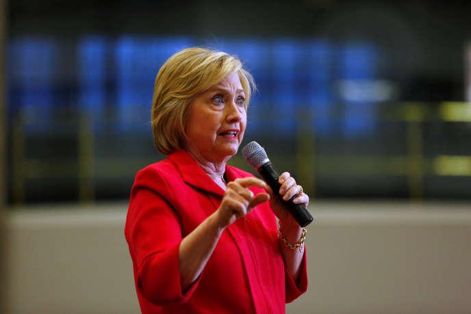 Pour la candidate démocrate Hillary Clinton, la Réserve fédérale compte trop de banquiers.