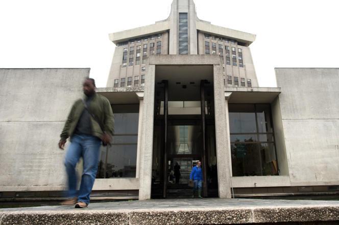 Le tribunal de grande instance de Créteil (Val-de-Marne), le 2 novembre 2010.