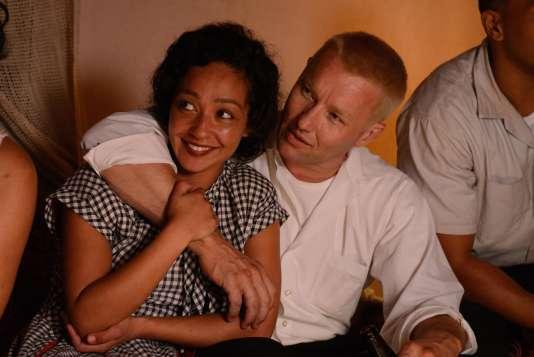 Ruth Negga (Mildred)etJoel Edgerton (Richard) dans « Loving », de Jeff Nichols.