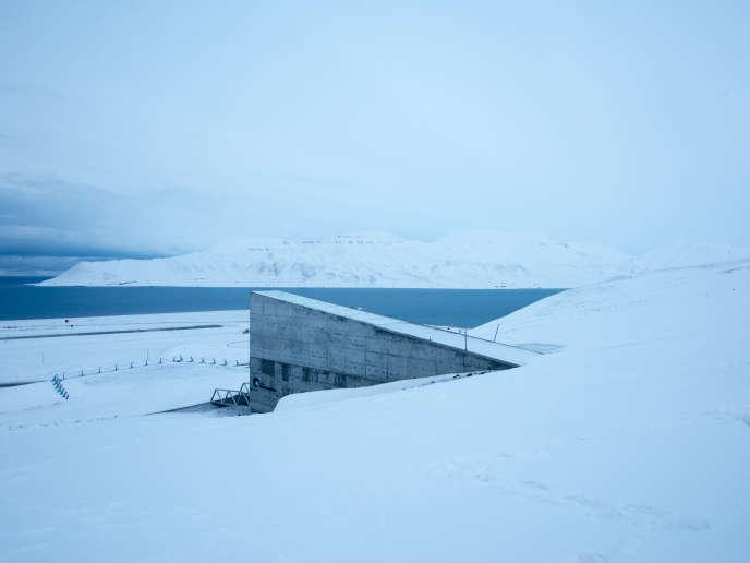 Au Svalbard, la chambre forte des semences.
