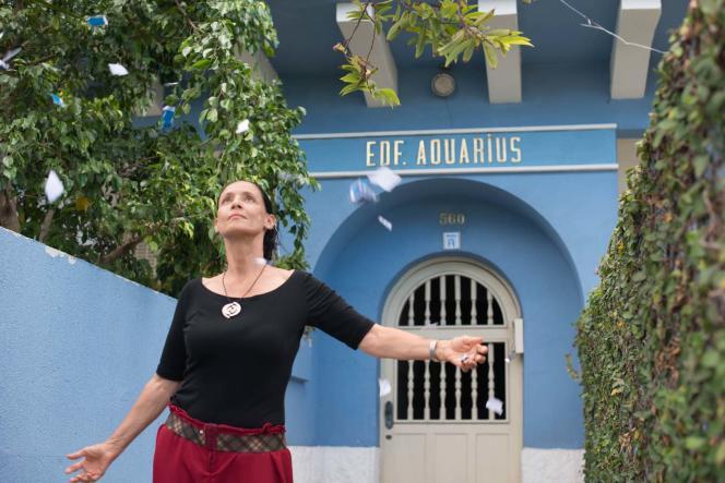 Sonia Braga dans le film brésilien deKleber Mendonça Filho,« Aquarius».
