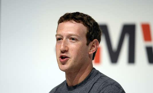 Mark Zuckerberg a rencontré des leaders de la droite américaine le mercredi 18 mai.