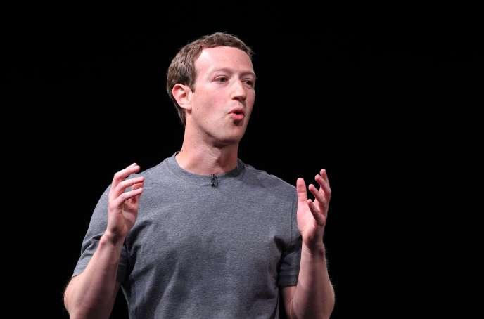 Les comptes Twitter et Pinterest de Mark Zuckerberg, ici, le 21 février 2016, ont été piratés.