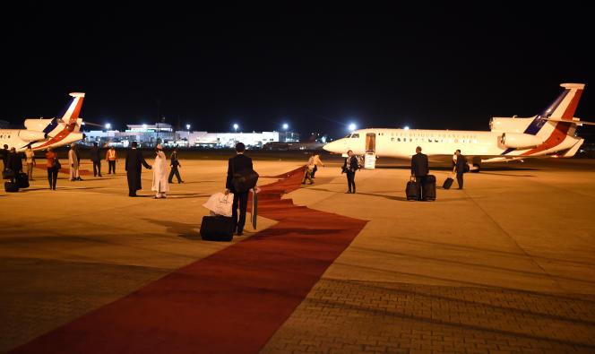 L'aéroprt d'Abuja, capitale fédérale du Nigeria.
