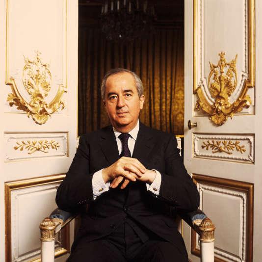 Edouard Balladur, premier ministre de 1993 à 1995 (ici en 1988).