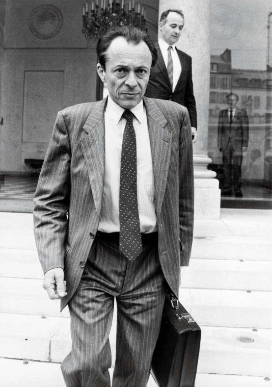 Michel Rocard, premier ministre, le 8 Juin 1988.