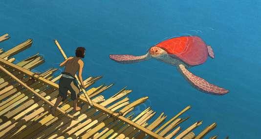 « La Tortue rouge », film d'animation belge et français de Michael Dudok de Wit