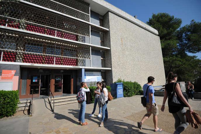 L'université Paul Valery - Montpellier 3, en septembre 2015. AFP PHOTO / SYLVAIN THOMAS / AFP PHOTO / SYLVAIN THOMAS