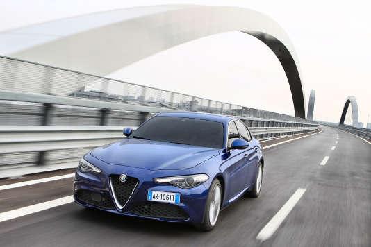 La nouvelleGiulia, commercialisée à partir du 11 juin.