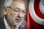 Rached Ghannouchi, président du parti Ennahda, chez lui à Tunis le 17 mai.