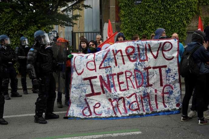 Manifestation contre la loi travail à Rennes, le 19 mai.