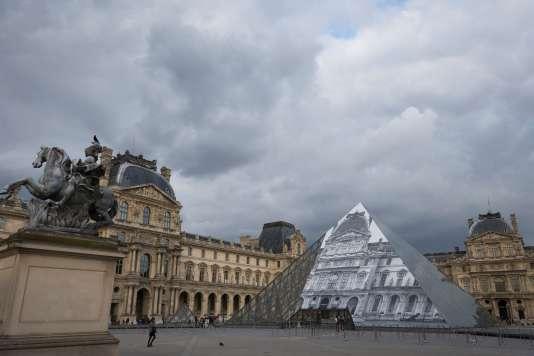 Le Louvre à Paris, le 19 mai 2016.