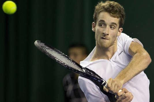 Le Français Constant Lestienne (ici à Bercy en 2013) a été écarté du tournoi de Roland-Garros cette année pour avoir misé 2,90 euros sur la finale en 2015.