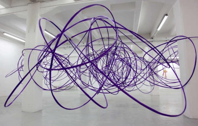 «Sirtuine, 2014»de l'artisteMichelangelo Penso, présenté à la galerie Alberta Pane.