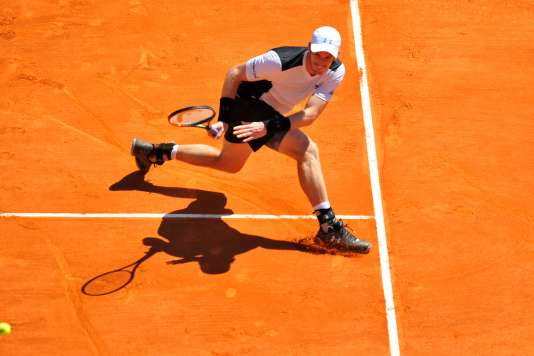 Andy Murray, à Monte-Carlo, le 14 avril 2016.