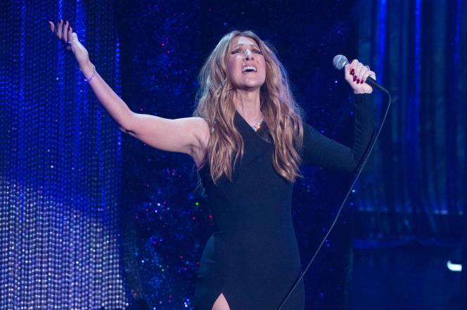 Céline Dion, à Las Vegas, le 2 décembre 2015.