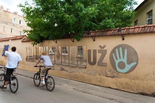 La drôle de république indépendante d'Uzupis, au cœur de Vilnius.
