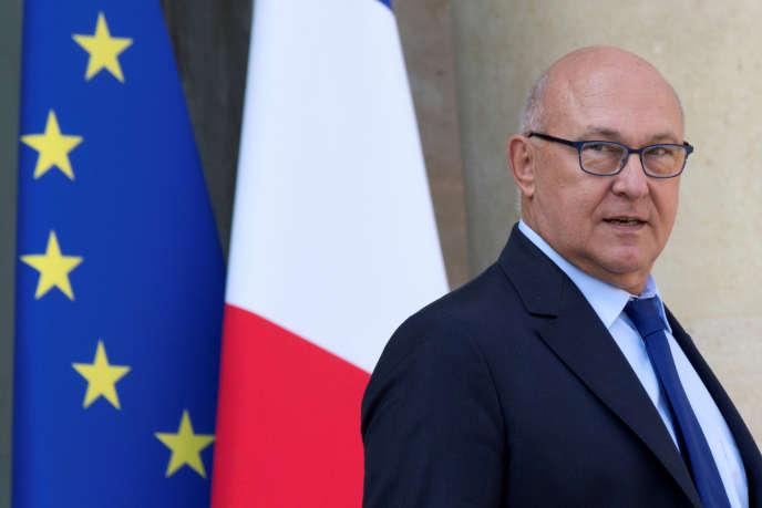Le ministre des finances Michel Sapin, le 25 mai 2016.