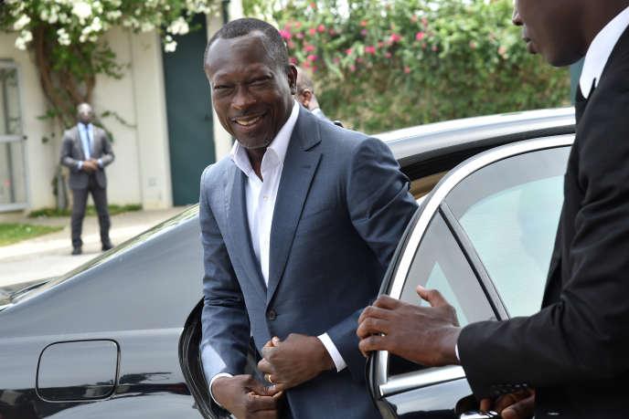 Patrice Talon,le 18 avril 2016, à Abidjan.